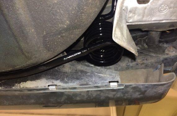 BMW 850 - Oil Cooler Pipes for Differential Refurbed