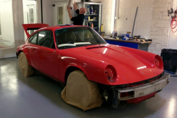 Porsche Carrera 964 Complete Re-spray & Body Repairs