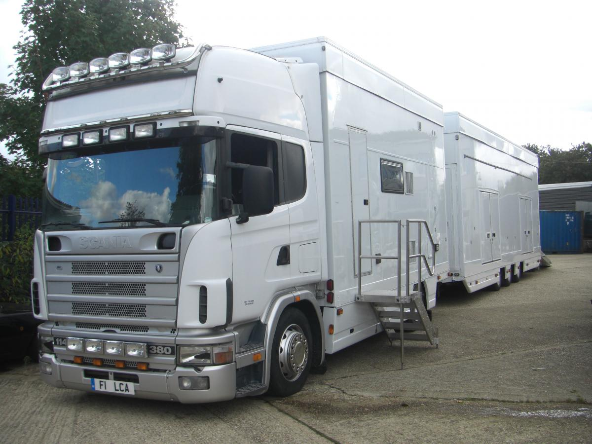 Scania Motorhome Scania Car Transporter Motorhome For Sale