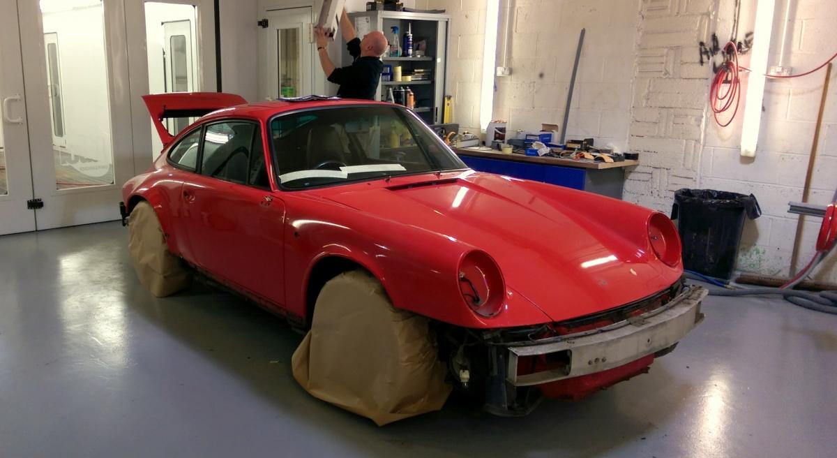 Porsche Carrera 964 Complete Re Spray Amp Body Repairs Lca