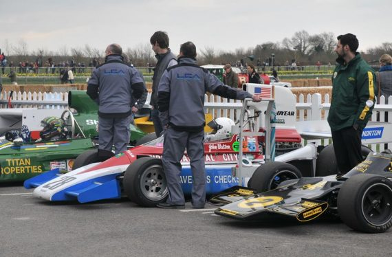 penske pc3 ran by lca goodwood 73rd