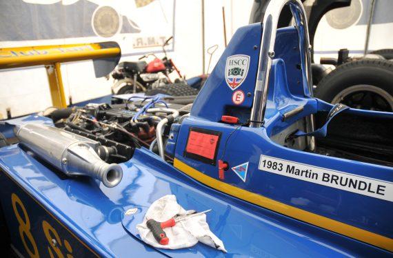 Thruxton historic racing