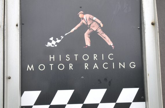 Thruxton historic racing