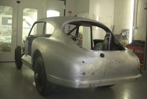 Aston Martin DB2/4 bare metal