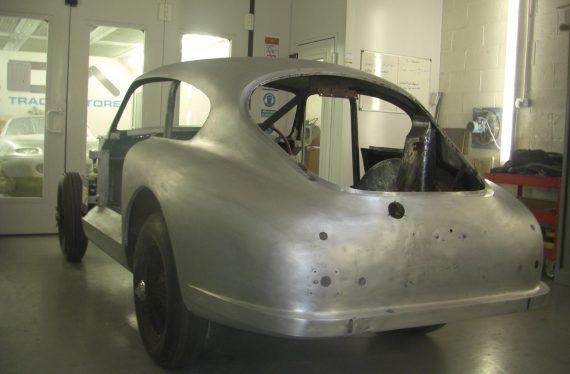 Aston Martin DB2/4 bare metal