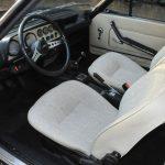1974 Fiat 124 Sports Coupe 1800 interior