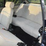 1974 Fiat 124 Sports Coupe 1800 interrior white