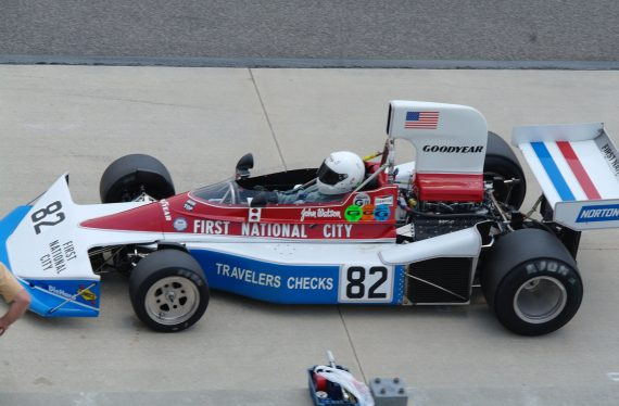 1976 Penske PC3 Formula one car