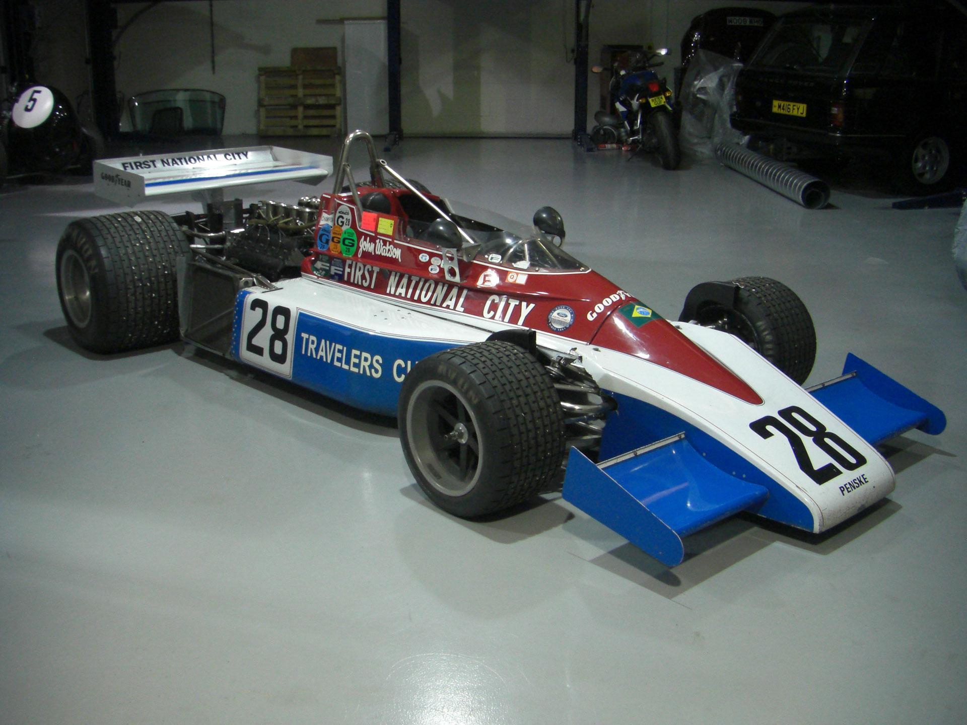1976 penske pc3 formula 1 car for sale 01420474411 lca. Black Bedroom Furniture Sets. Home Design Ideas