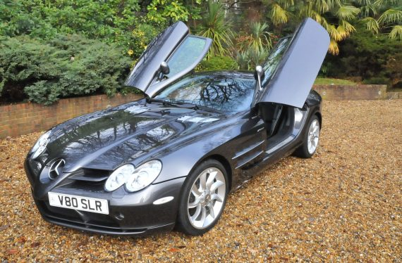 2007 Mclaren Mercedes SLR doors