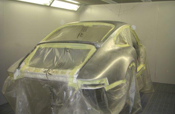 1973 Porsche 2.7 RS lightweight in for complete restoration & re-spray