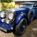 bentley blue train for sale london