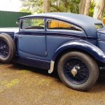 iconic bentley blue train