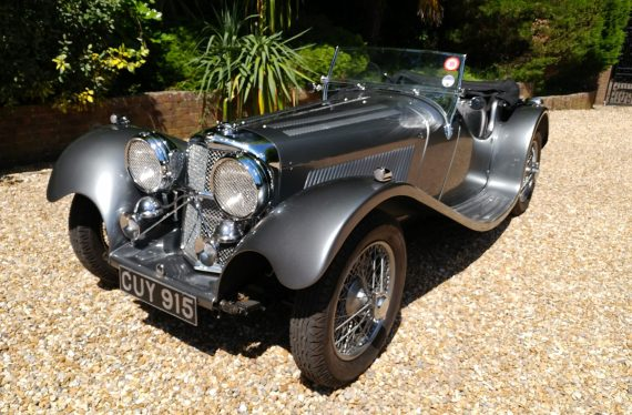Jaguar SS100 for sale