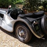 Jaguar SS100 Nearside Rear
