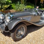 Jaguar SS100 Side On