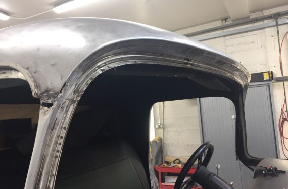 Complete bare metal re-spray