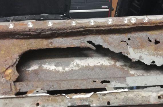 Hillman Imp restoration