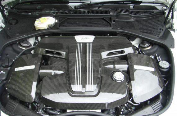 Bentley Continental GT3-R engine