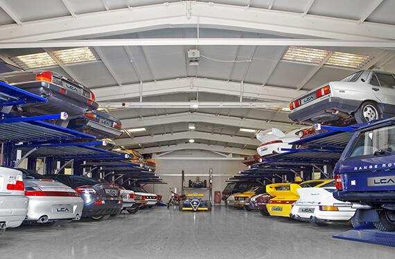 LCA car storage in London