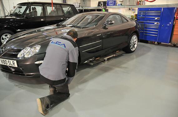 Car storage LCA in London