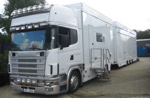 Scania Car Transporter & Motorhome