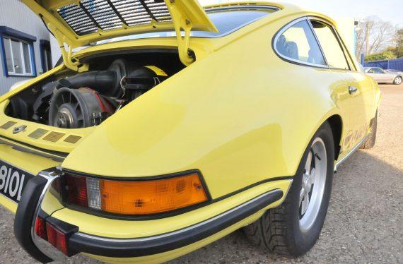 1973 Porsche 2.7 RS back engine