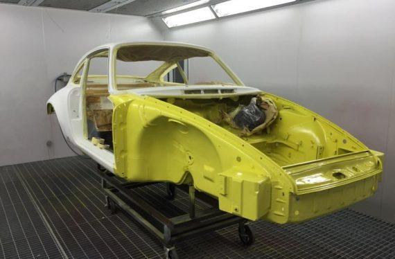 1973 Porsche paint oven lca