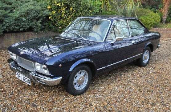 1974 Fiat 124 Sports Coupe 1800