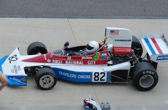 1976 Penske PC3 Formula one car