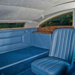 Bentley Blue Train interior