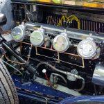 bentley blue train engine