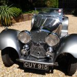 Jaguar SS100 Head On