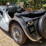Jaguar SS100 Rear