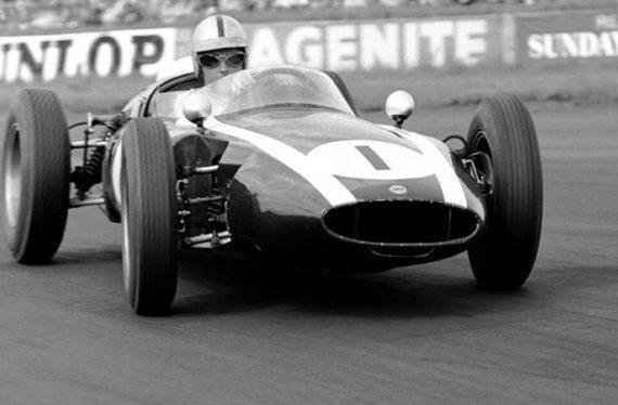 Cooper T53 Period Pic British Grand Prix - Jack Brabham