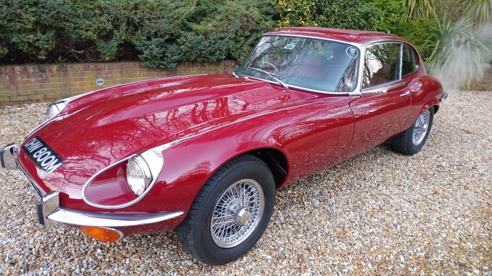 1973 Jaguar E-type Series 3 V12 for sale £89,995 - LCA