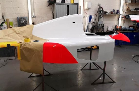 MP46 BODYSHELL